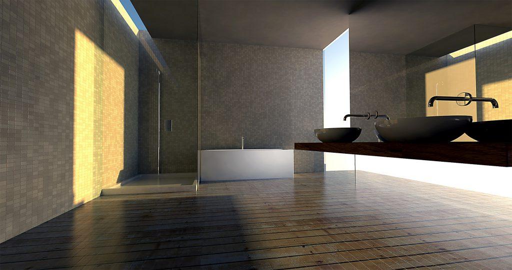 badkamer Feng Shui inrichten
