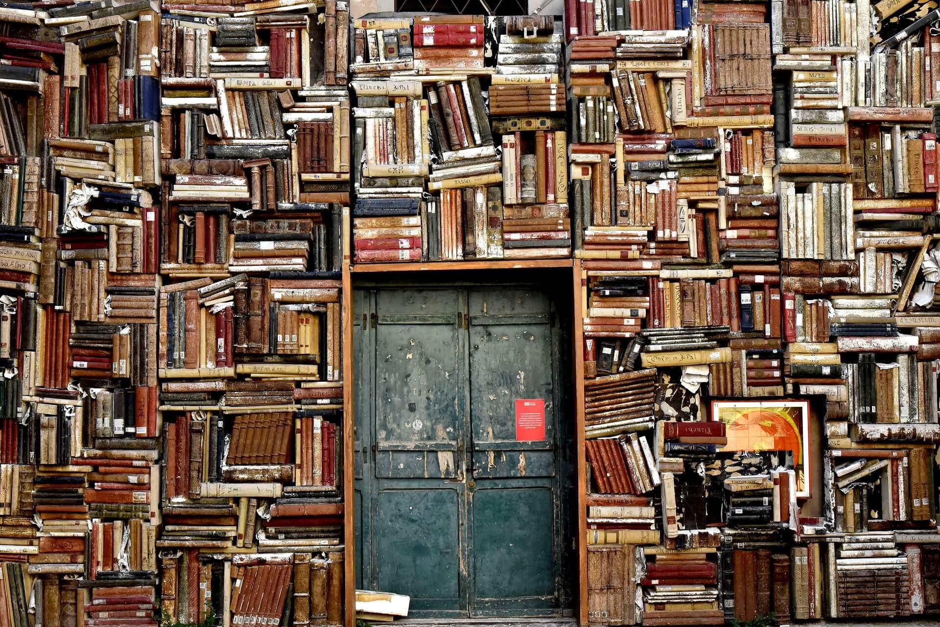 Een boekenwand maken
