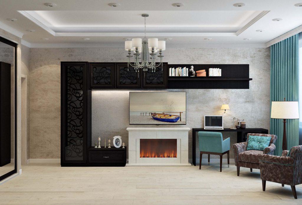 Tv-meubel interieur