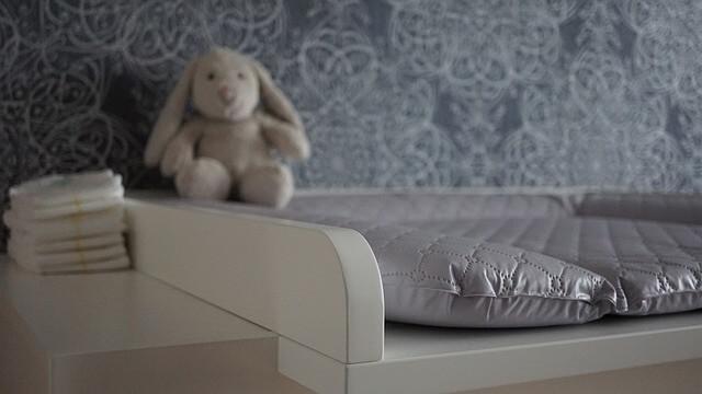 Deur open of dicht op de babykamer?